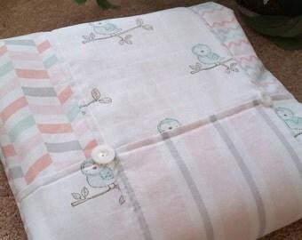 Spring Owls Blanket