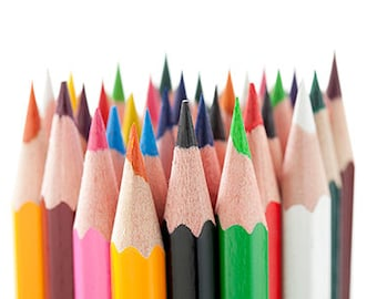 Package of pencil crayons - add to your Coloring Pages!