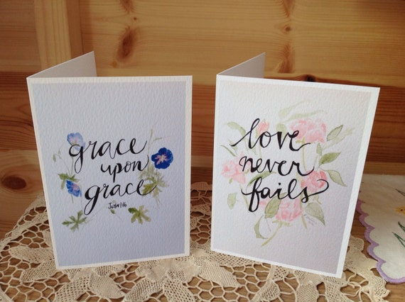 Blank note cards (set of 2)