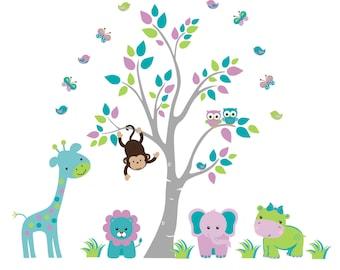 "Nursery Inspiration - Nursery Wall Decals - Kids Decor - Kids Wall - Kids Stuff - Nursery Design - Nursery Style - Nursery Print - 88"" x 97"""
