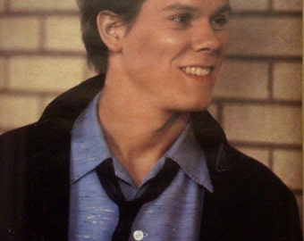 Footloose 21x32 Kevin Bacon Poster 1984 Ren Close Up
