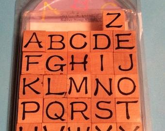 Alphabet Stamp Set!
