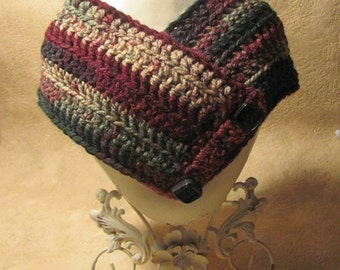 Hand Crocheted Neck Warmer  Free shipping in US
