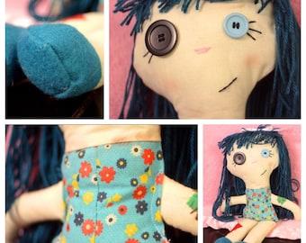 Handmade Missy Rag Doll
