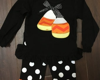 Candy Corn Set for Halloween