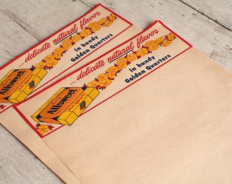 Vintage Allsweet Letterhead - Ephemera - General Store - Altered Art - Mixed Media - Assemblage - Scrapbooking