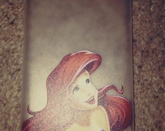 Ariel The Little Mermaid Looking Up Iphone Cases All Iphones Decoden Crystals