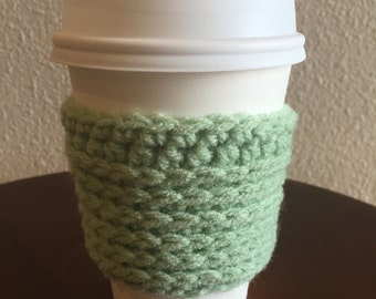 light green cup sweater