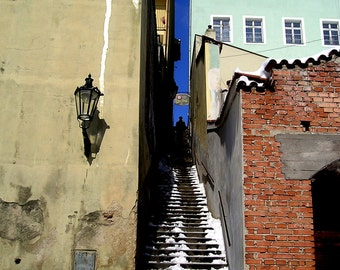 Prague Staircase 5x7 Photograph