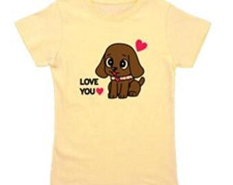 Girl's Yellow T-shirt