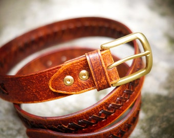 Buffalo Handmade Leather Belt