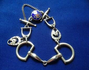 Silver jumper Vintage bracelet