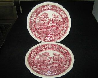 Pair of Spode Dishes