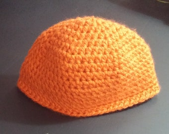 Orange Beanie Hat