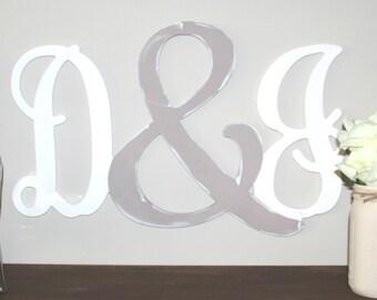 Letter Ampersand Letter