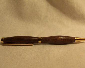 Walnut wood pen