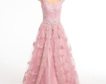 Prom/ Wedding/ Sweet 16/ Quinceañera Dress- Size 6