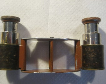 Opera glasses ca.1910/20,Busch/Wineck,DRP-Deutsches Reich patent, 3 stage