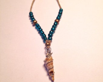 Wire Wrapped Sea Shell