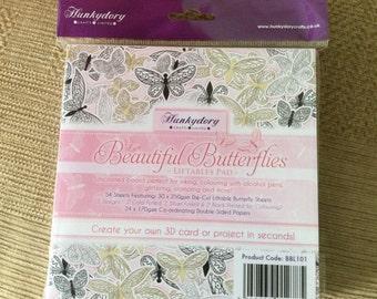 Hunkydory beautiful butterflies liftables