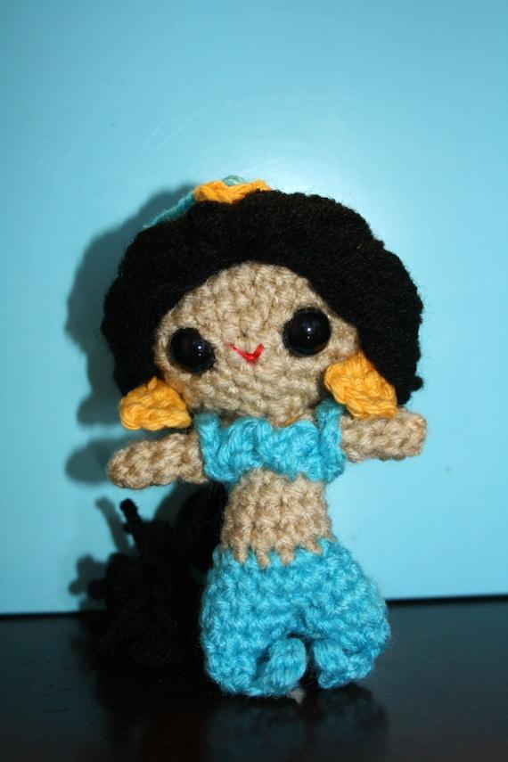 Jasmine Aladdin Amigurumi Crochet Doll