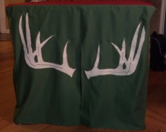 Card Table Play House / Tent - Deer Hunting Stand