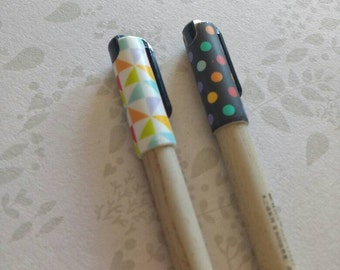 Wood effect pen