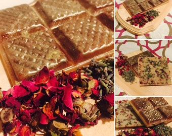 Chocolate Rose & Lavender Melt Bar