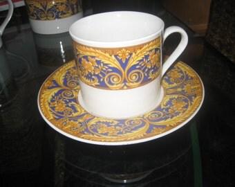 Valetta Blue Coffee Cup & Saucer
