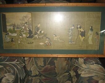 Hikone Japanese Art print
