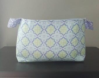 Purple & Periwinkle Fabric Box
