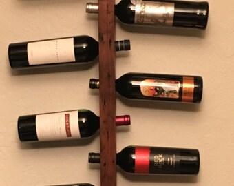 Recycled Wood Wine Bottle Holder