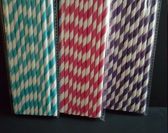 Color Straws 20ct