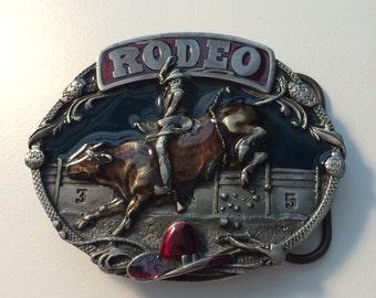 Rodeo Belt Buckle