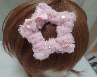Fuzzy Star Sweet Lolita Fairy Kei