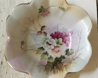 Nippon Bowl Vintage Hand Painted