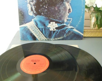 Bob Dylan's Greatest Hits Volume II Vintage Vinyl Album Double LP 1971