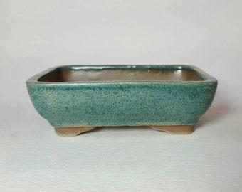 "Rectangle Bonsai Pot 4 1/2 × 3 1/2 × 1 1/2"""