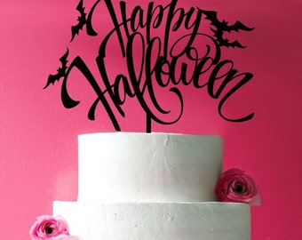 Happy Halloween Cake Topper  (MIC-FJM2721407)