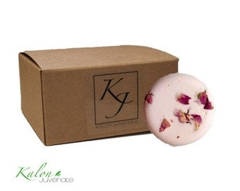 Aphrodite | 200g Bath Cake with Shea Butter | Handmade in the UK | Kalon Juvenate
