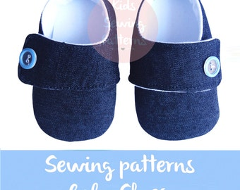 Jeans baby boy shoes, fabric baby booties, baby shoes boy, baby shoes handmade, newborn baby boy shoes, boys clothes, kids clothing, childs
