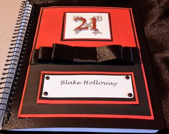 Guest book A5 customized weddings, engagements, 21st, 18th, events
