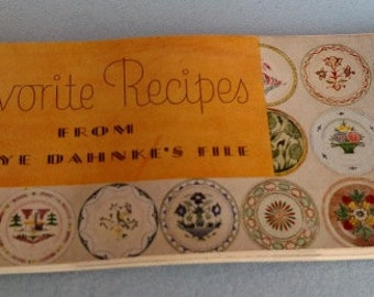 Favorite Kraft Cheese Recipes From 1936