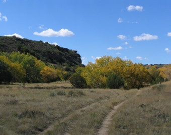 Canyon Trail in Autumn