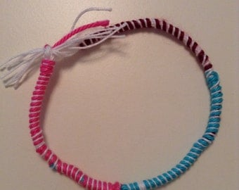The Color block bracelet
