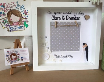 Personalised handmade weddig gift
