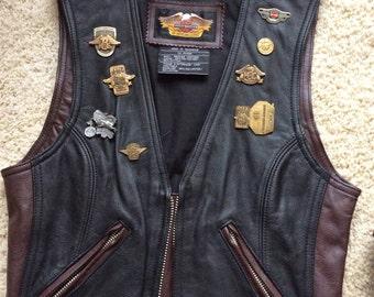 Harley Davidson 95th Anniversary Vest - Women's Size X-Small