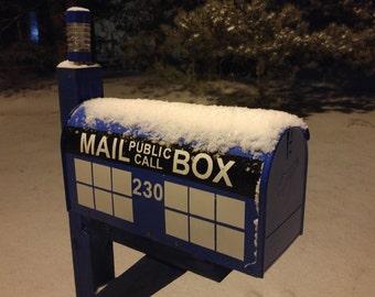Police Box Mailbox