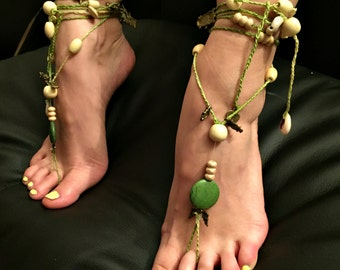 """Barefoot sandals """"Breath of Nature"""""""