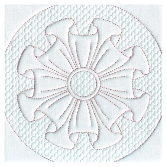 Quilting Trapunto Designs : Quilt Blocks Quilting Trapunto Frills Machine Embroidery